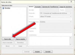 Como crear un blog en wordpress - filezilla
