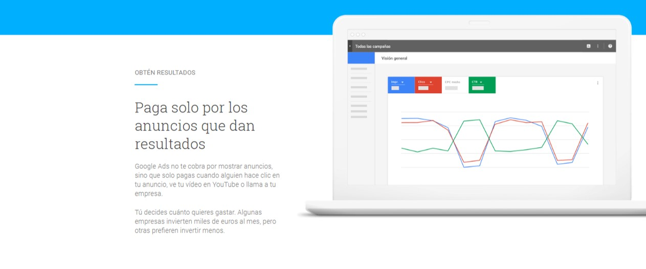 Pagar puja subasta PPC - tutorial de Google Adwords Ads